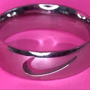 Pink nike ring